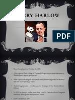 harry harlow