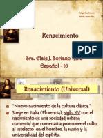 Lit. Del Renacimiento Español