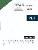 Informe Del BM 1993