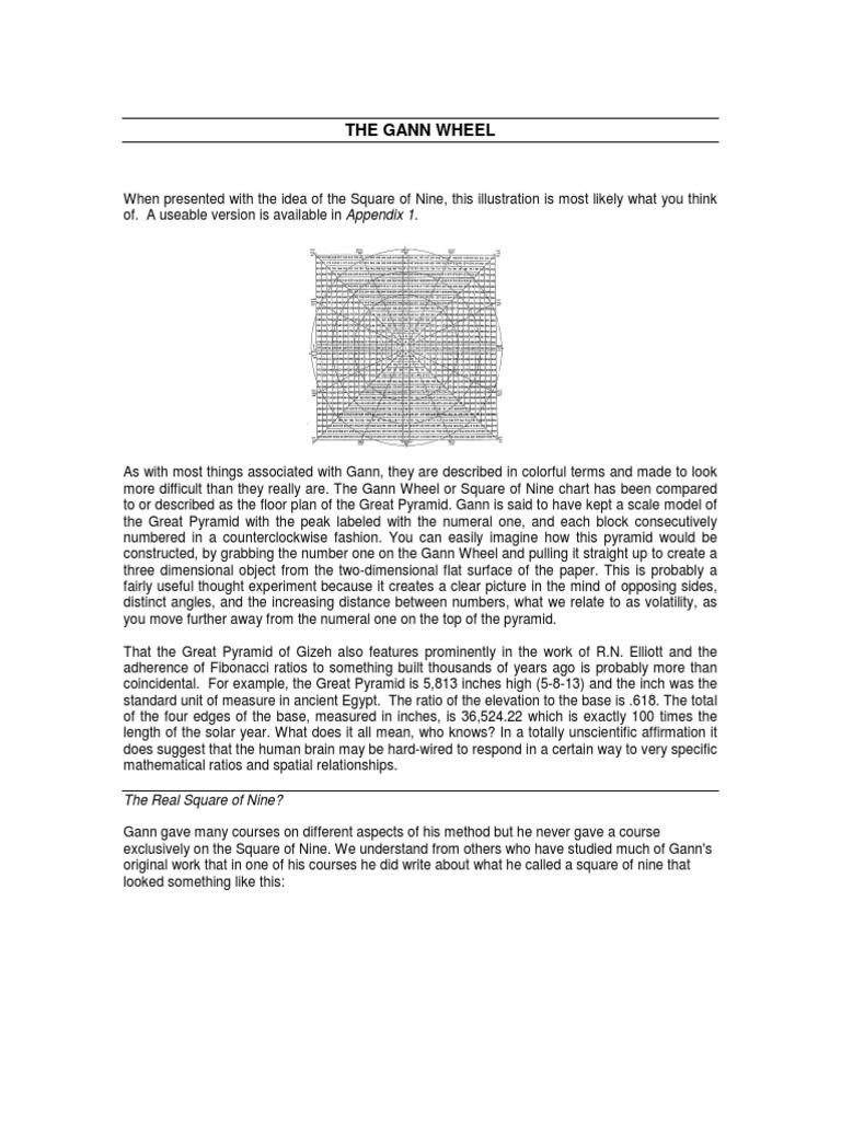 Unknown - The Gann Wheel | Angle | Geometry