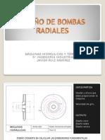 Diseño Bombas Radiales