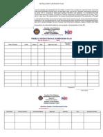 Instructional Supervisory Plan