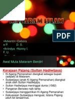 Mataram Islam