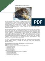 Pekerjaan Geoteknik Pada Pembangunan Terowongan (1)