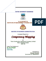 Competency Mapping Telco