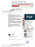 19-05-2014 '8,000 Alumnos de Reynosa Recibirán Beca Municipal'