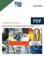 Zeochem Product Portfolio