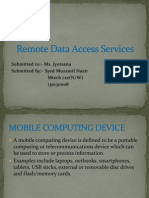 Remote Data Access.ppt