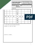 Caderno de Atividade Calculo 6º Ano - 2º Bimestre