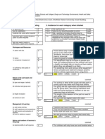 risk activity assessment proforma