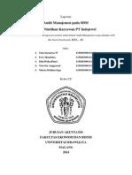 Laporan Audit Manajemen SDM PT Indojewel (Final)