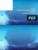 2014 Comparative Effectiveness Research and the Environment for Health Care Decision-Making