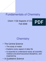 Lect 1 Fundamentals of Chemistry