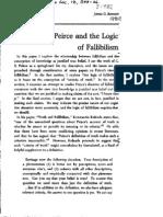 Bennett - Peirce and the Logic of Fallibilism