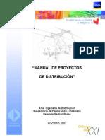 Manual de Proyectos de Distribución