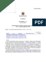 Hotarire Privind Aprobarea Tarifelor La Serviciile Cu Plata Prestate de is Camera Inregistrarii de Sstat