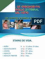Control de Crecimiento y Desarrollo Integral Del Niño 2009.