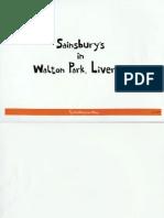 Everton Sainsbury's Walton Park
