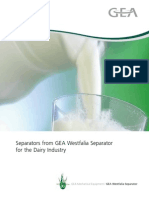 Separators for the Dairy Industry Brochure[1]