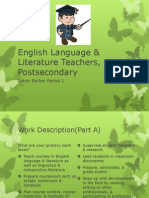 english language and literature teachers postsecondary lvb1