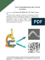 Fundamentos y Microbiologia Del Yogur - Mblgo. Erick Estrada Huancas