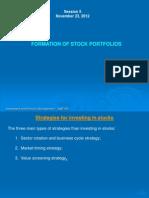 Strategies for Investing in Stocks