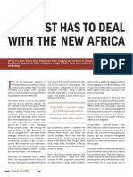 The West has to deal with the new Africa