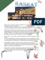 PARASHAT VAYERA # 4  Adol 5770