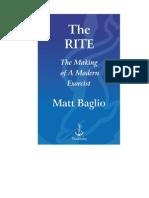 The Rite-The Making of a Modern Exorcist - Matt Baglio (1)