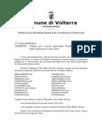 Delibera Aliquote TASI 2014