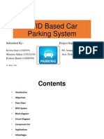 RFID based car parking system