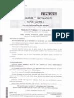 STPM Baharu 2014 Sem 2( Mathematics T 954 )