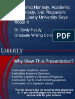 Student Plagiarism Powerpoint