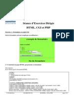 Correction Ed HTML Cgi Php