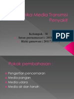 Dinamika Media Transmisi Penyakit