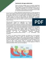 Contaminación del agua subterránea y superficial.docx