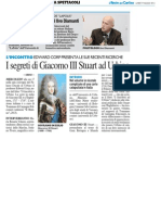 I segreti di Giacomo III di Stuart a Urbino / L'Europa