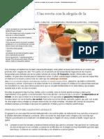 Gazpacho andaluz. Mi receta de la alegría de la huerta, el tomate - Recetasderechupete.pdf