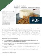 Receta de arroz basmati con jamón y setas - Recetasderechupete.pdf