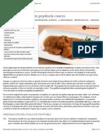 Cómo hacer pollo en pepitoria casero - Recetasderechupete.com.pdf