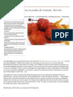 Albóndigas caseras en salsa de tomate. Receta paso a paso - Recetasderechupete.pdf