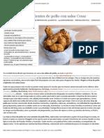 Fingers o tiras crujientes de pollo con salsa Cesar - Recetasderechupete.com.pdf