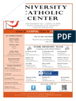 UCC Bulletin 5-25-2014