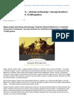 Mikrobi Puske i Celik Istorija Civilizacije i Razvoja Drustva i Tehnologije u Zadnjih 13000 Godina