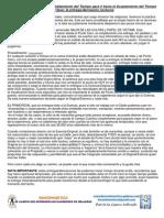 11-1º Llave Entrega Nocturna Protocolo Desdoblamiento-Acoplamiento Tiempos