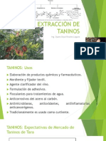 Extracción de Taninos