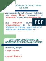 De La Revolucióndel 44 Hasta 2012