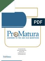 ProMatura Brochure