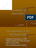 history of journalism pdf