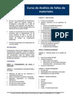 Curso de Análisis de Fallas de Materiales (1)